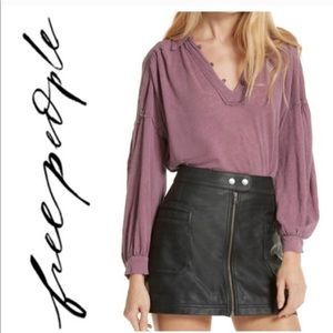 Free People Mulberry Top